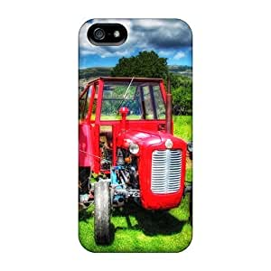 taoyix diy Hot Tpye Tractor Case Cover For Iphone 5/5s