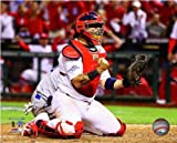 Yadier Molina St. Louis Cardinals 2013 NLCS Action Photo 8x10 #2