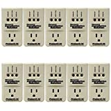 Pipeman's Installation Solution 10-Pack 3600 Watts Air Conditioner Surge Brownout Voltage Protector (New Model)