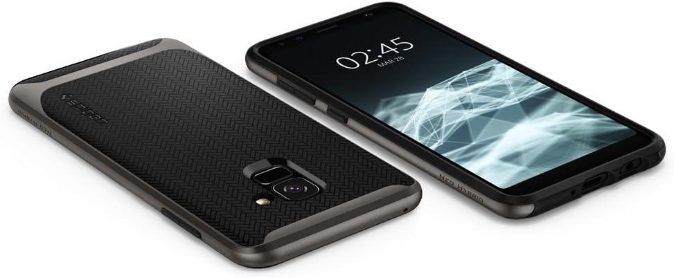 Spigen 8809565304521 Case for Samsung Galaxy A8 - Gunmetal: Amazon ...