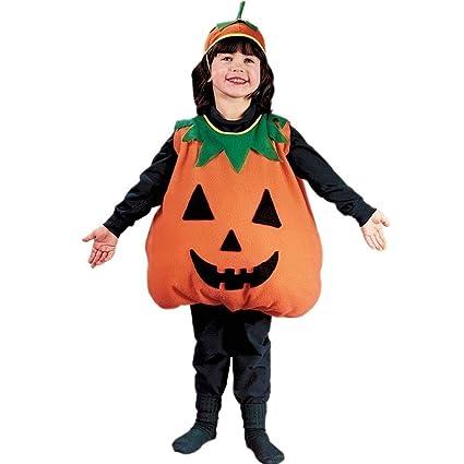 Amazon.com: Disfraz de calabaza para niño, Anaranjado ...