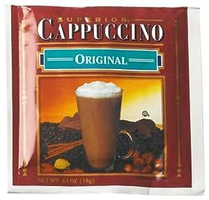 Sara Lee Superior Original Cappuccino Mix, 50-Count Envelopes (Pack of 2)