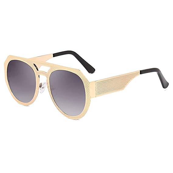JiXuan Fashion Men Cool Square Style Gradient Sunglasses ...
