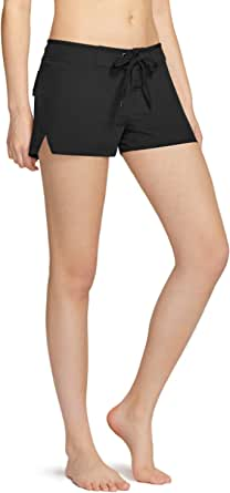 TSLA Womens's Swim Shorts, Quick Dry Water Beach Board Short, Tankini Bathing Athletic Swimsuit Bottoms
