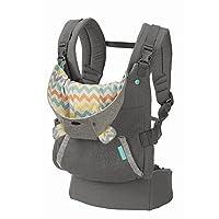 Sudadera con capucha ergonómica Infantino Cuddle Up, gris