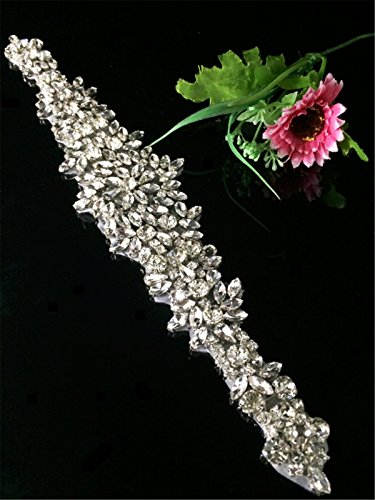 ShiDianYi Crystal Applique Rhinestone Trim