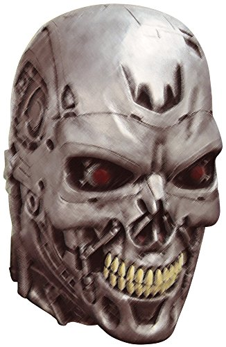 Ghoulish Adult Terminator 2 Endoskull Horror Movie Theme Party Halloween Costume Mask -