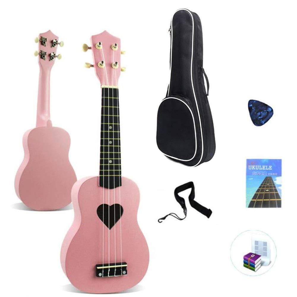 Ukelele 21 pulgadas de guitarra ukulele soprano con bolsa de ...