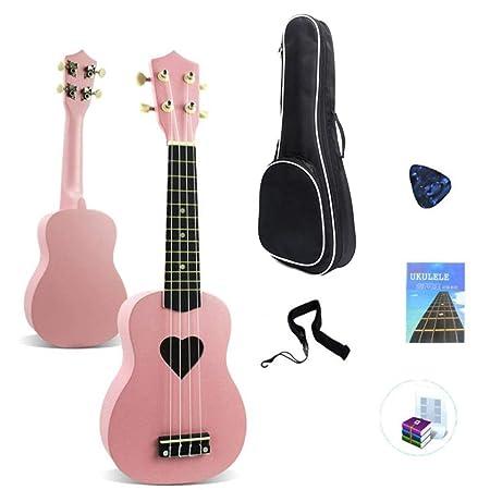 Ukulele principiante 21 pulgadas de instrumento de ukulele soprano ...