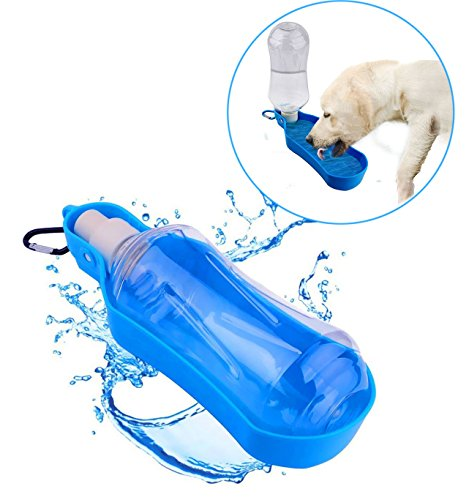 Portable Waterer (Portable Pet Water Bottle, Hiking, Camping, Traveling Water Dispenser, Foldable Pet Drinking Feeder for Outdoors 500ml)