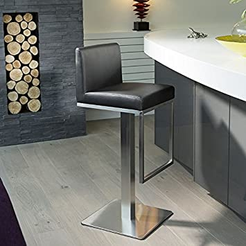 Amazon De Luxus Schwarz Theke Bar Kuche Hocker Sitz Hocker 210b