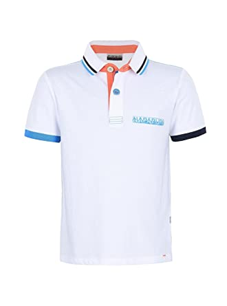 Napapijri Polo Esse Kids Blanco 14 Blanco: Amazon.es: Ropa y ...