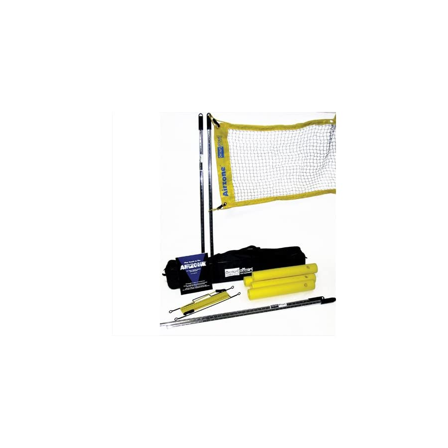 Oncourt Offcourt Airzone System – Increase Tennis Net Height/For Players Who Hit Too Many Balls Into The Net/Up To 7ft In Height