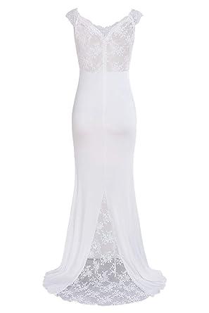 Vestidos de novia playa amazon