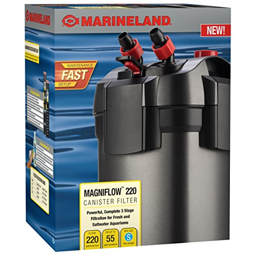 MarineLand Magniflow Canister Filter for Aquariums (Best Canister Filter For 55 Gallon Aquarium)