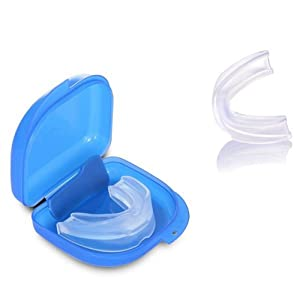 Mouth Guard for Grinding Teeth at Night Sleep, Professional Dental Guard Stops Bruxism, TMJ Relief & Eliminates Teeth Clenching