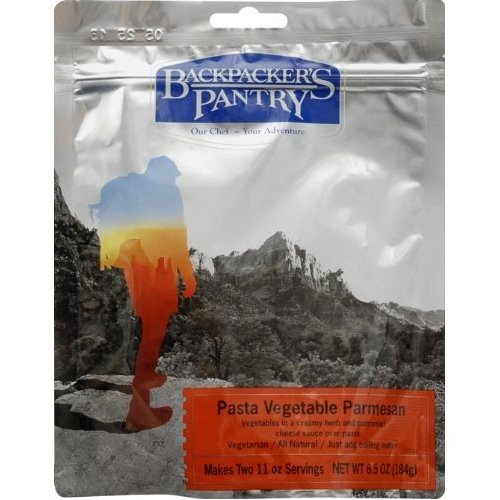 Backpacker's Pantry Pasta Vegetable Parmesan, Two Serving Pouch (Dried Pasta)