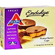 Atkins Endulge Peanut Butter Cups 6 Ounce (5 - 1.2-ounce Servings)