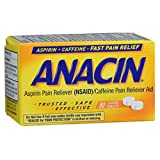 Anacin Aspirin Pain Relief Tablets - 50 ct