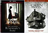 The Cabin In The Woods & Rosemary's Baby DVD Double Feature Horror