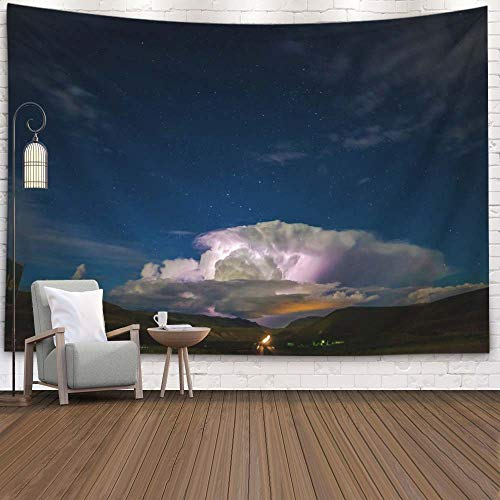 Dillon Day Halloween (SOAUTY Big Tapestry, Tapestry Wall Hangings 80X60Inch Off Distance Dillon Montana Living Room Bedroom Thanksgiving Christmas Halloween Day Fall Tapestry Wall Covering Home)