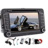 New 7 inch 2 din Car DVD GPS Stereo for Volkswagen Car DVD CD Player Autoradio Bluetooth in Dash GPS Navigation Headunit with Win 8 UI special for VW Multimedia Audio Vedio MP3 Free 8gb Map Card