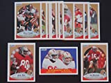 San Francisco 49ers 1990 Fleer (Premier Issue) Football Team Set (17 Cards) (Joe Montana) (Steve Young) (Jerry Rice) (Roger Craig) (Charles Haley) (Ronnie Lott) (Tom Rathman) (John Taylor) and more
