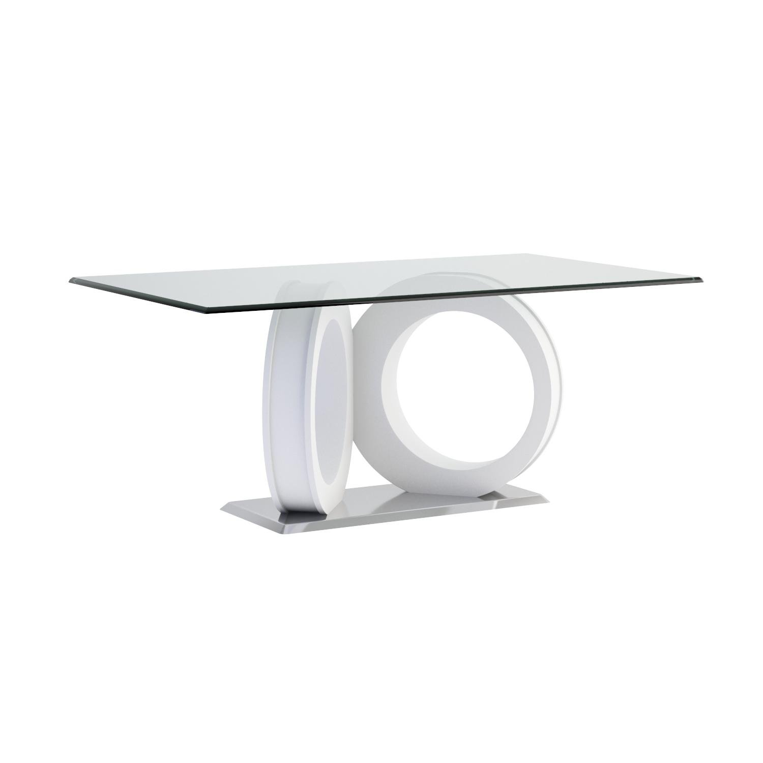 Global Furniture Dining Table, White by Global Furniture USA
