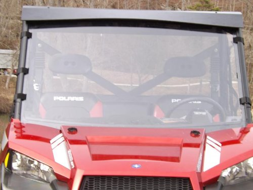 2012-2015 Polaris Ranger 900 xp 570 full size Clear Full Windshield. 1/4 Thick Polycarbonate!! by Dot Weld Offroad