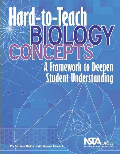 Hard-To-Teach Biology Concepts: A Framework to Deepen Student Understanding (PB238X)