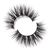 Lilly Lashes Miami Lite | False Eyelashes | Natural Look and Feel | Mink | Stackable & Reusable | Non-Magnetic | 100% Handmade & Cruelty-Free