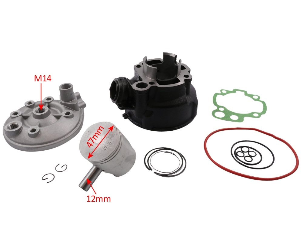 MRX RR RIEJU MRT RS3 Kit cylindre 70cc 2EXTREME Sport pour RIDE Thorn 50cc RS2 RS 1 RRX