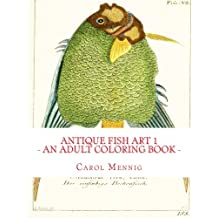 Antique Fish Art 1 - An Adult Coloring Book