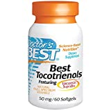 Doctor's Best, Best Tocotrienols (50 mg), Softgel Capsules, 60-Count Review