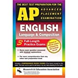 img - for AP English Language & Composition (REA) - The Best Test Prep for the AP Exam (Advanced Placement (AP) Test Preparation) book / textbook / text book
