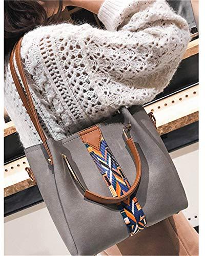 Borsette Verde Tracolla Bag Bags Morbida Single Tote Borse Handbag Women A Donna Borsa Mjfo Geay Rivet Donna Shoulder awOqxad0