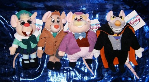 The Great Mouse Detective Four Character 7