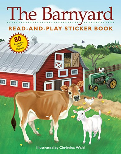 (The Barnyard Read-and-Play Sticker Book)