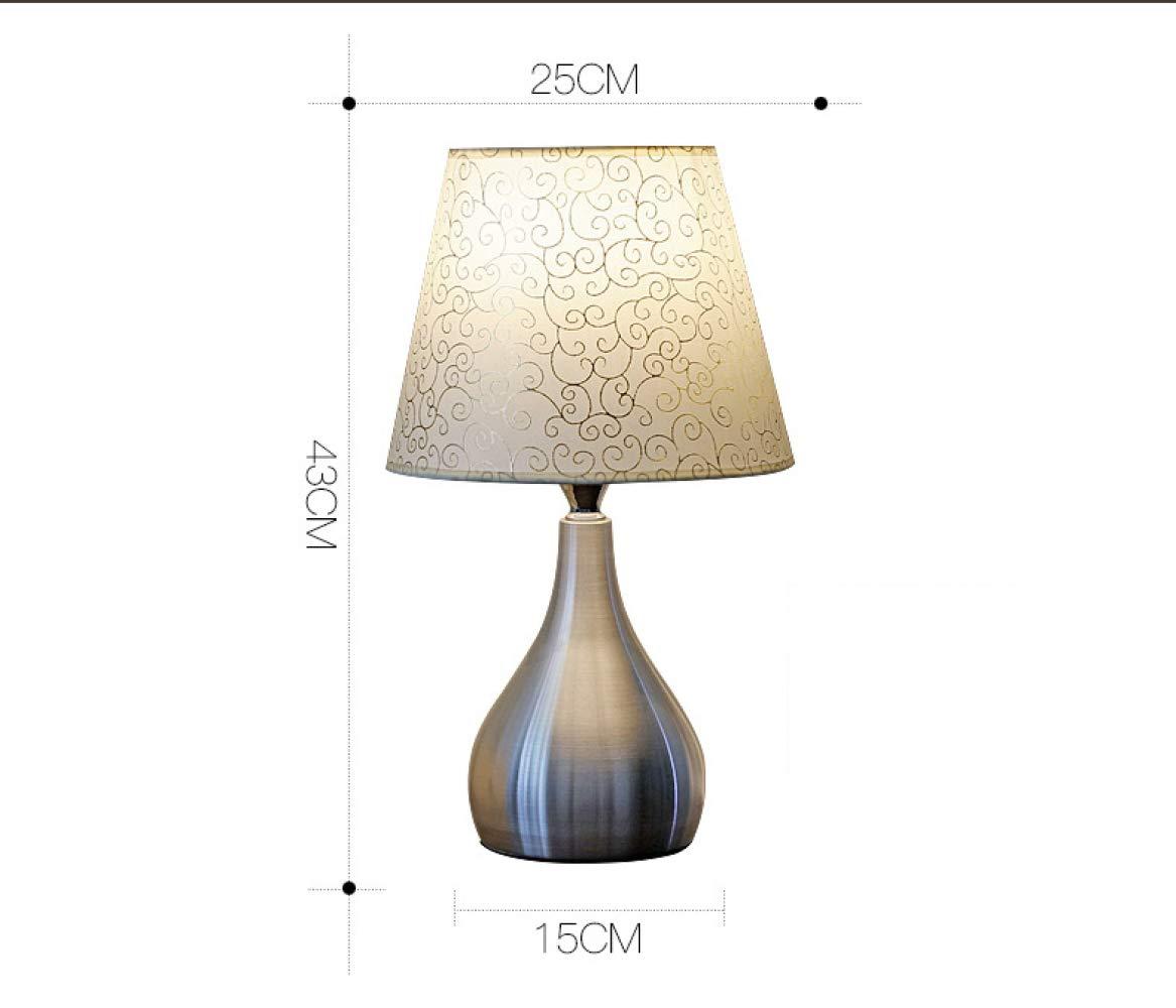 XCJ CZZ CZZ CZZ Einfache Moderne Tischlampe, Schlafzimmer-Nachttischlampe, Kreatives Romantisches Warmes Haupt-Touch dimmable Nachttischlampenlicht fc377a