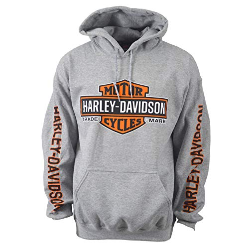 Price comparison product image Harley-Davidson Bar & Shield Pullover Hoodie - Eagle Custom Overseas Tour 2X