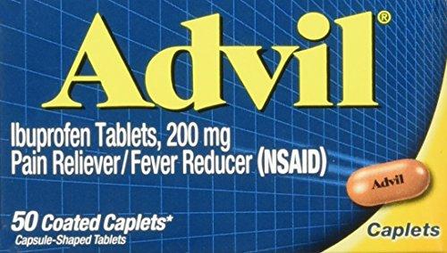 Advil Caplets,200mg,50 ct