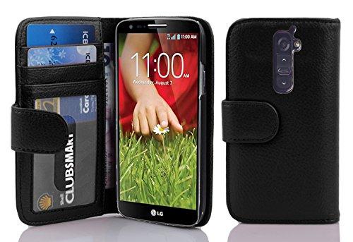 3 opinioni per Cadorabo- Custodia Book Style Design Portafoglio per LG G2 con 3 Vani di Carte-