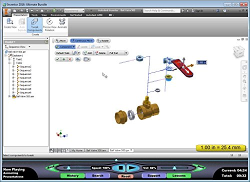 Amazon.com: Autodesk Inventor 2016 Video Training Course ...