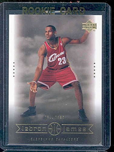 2003 Upper Deck #27 Tall Task Lebron James Rookie Card - Mint Condition Ships in a Brand New Holder