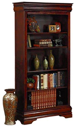 Louis Philippe Open Bookcase: Amazon.com: Louis Philippe Open Bookcase With Five Shelves
