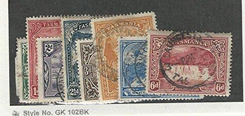 Tasmania, Postage Stamp, 86-93 Used, 1899-1900