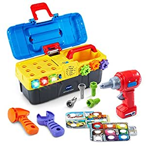 Amazon.com: VTech Drill and Learn Toolbox: Toys & Games