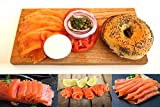 Pre-Sliced, Smoked Salmon Fillet, Fully