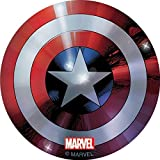 Captain America Foil Shield Stickers - Birthday Party Supplies & Favors - 50 per Pack