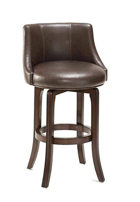 Prime Hillsdale Napa Valley 25 Swivel Counter Stool In Brown Lamtechconsult Wood Chair Design Ideas Lamtechconsultcom